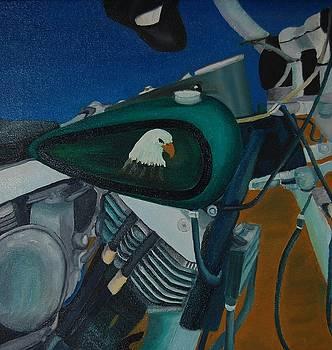 Eagle Ride by Charla Van Vlack