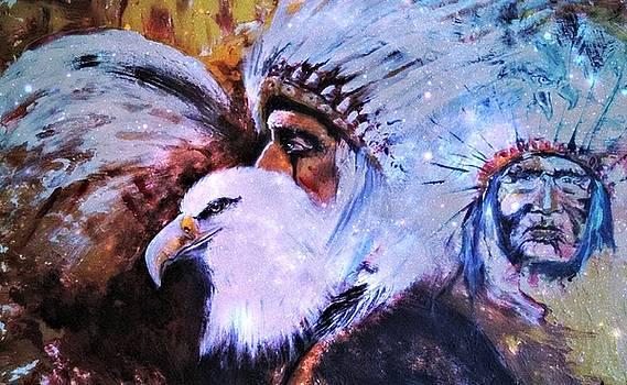 Eagle Warrior by Alma Yamazaki