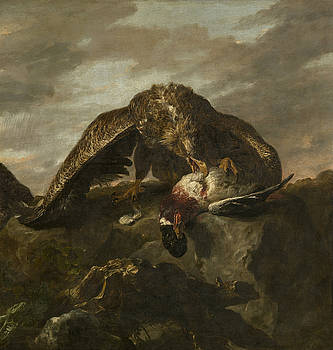 Eagles-Detail by Jan Fyt