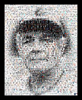 Earl Weaver Mosaic by Paul Van Scott