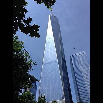 One World Trade Center by Eve Tamminen