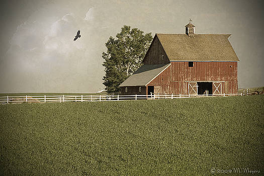 Early AM Barn by Melisa Meyers