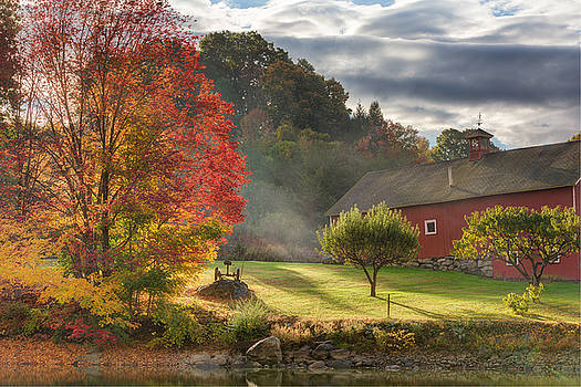 Early Autumn Morning by Bill Wakeley