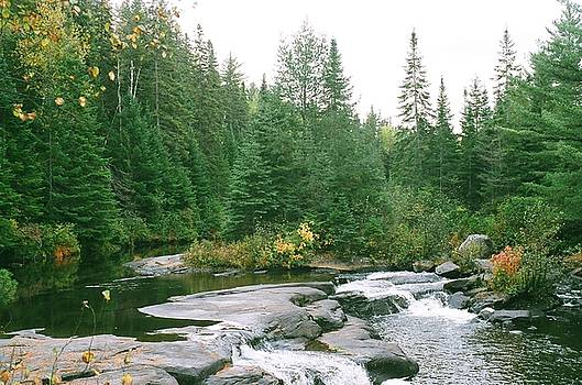 Early Autumn on the Madawaska River by David Porteus