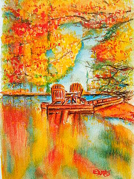 Early Autumn Reflections by Elaine Duras