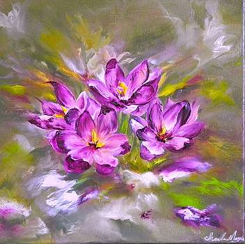 Early Crocus by Charla Morgan