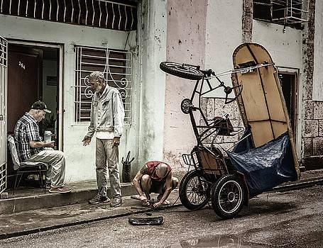 Early Day Havana Cuba by Joan Carroll
