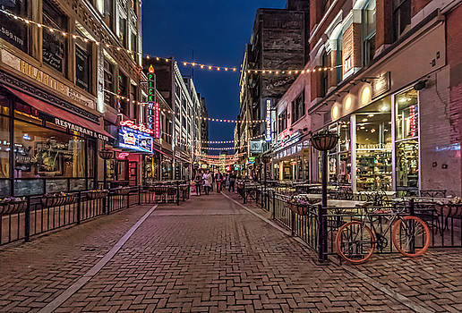 Early evening on E. 4th by Brent Durken