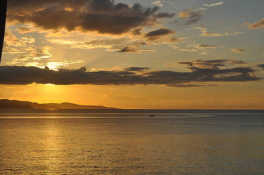 Early Jamaican Sunset by D Hood