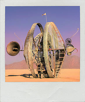 Early Mars Rover Design by Dominic Piperata