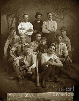 California Views Mr Pat Hathaway Archives - Early Monterey Baseball team Circa 1895