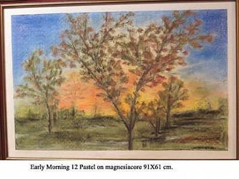 Early Morning 12 by Maria Carosi