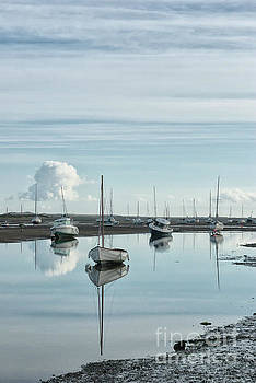 Early morning at Brancaster Staithe Norfolk UK by John Edwards