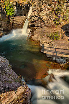 Adam Jewell - Early Morning At St Mary Falls