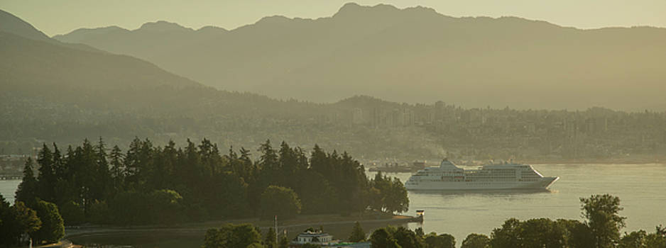 Ross G Strachan - Early morning cruise ship arrival