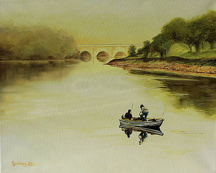 Early Morning Fishing Trip by Steve James
