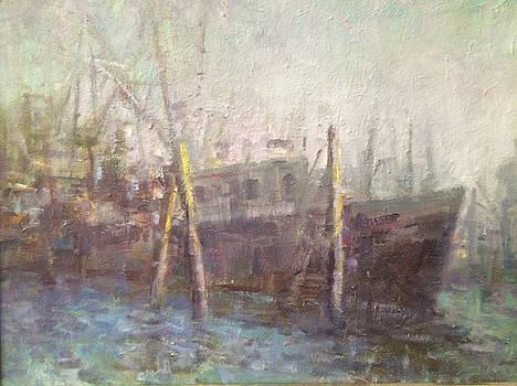 Early morning fog. by Bart DeCeglie