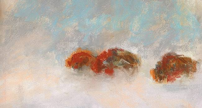Early Morning Herd by Frances Marino