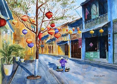 Early Morning Hoi An by Brian Degnon