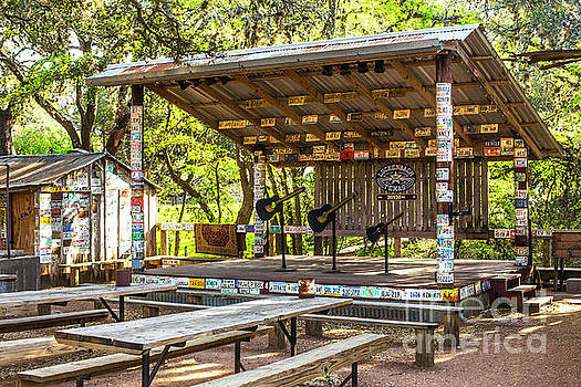 Early Morning in Luckenbach by Katya Horner