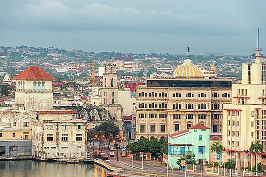 Early morning in old Havana. by Viktor Birkus