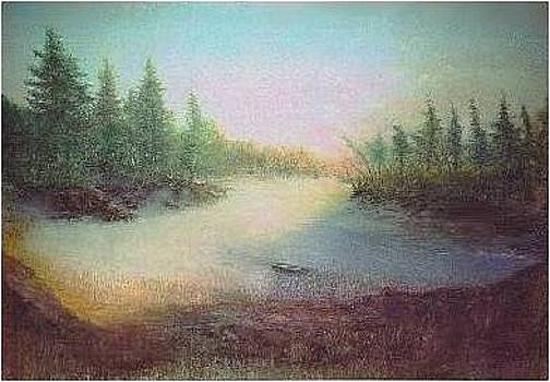 Early Morning Maine by Brian Higgins