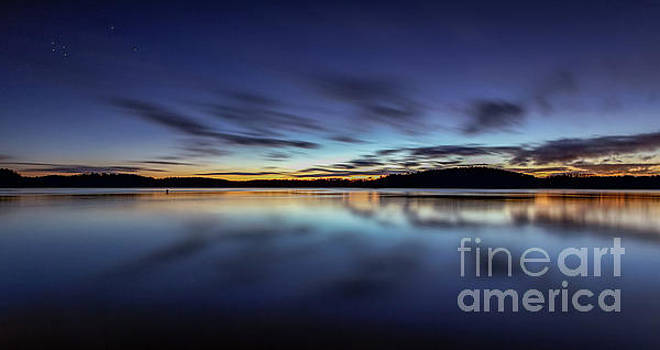 Early morning on Lake Lanier by Bernd Laeschke