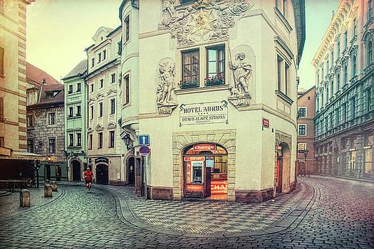 Early Morning Prague Jog by Eric Bjerke