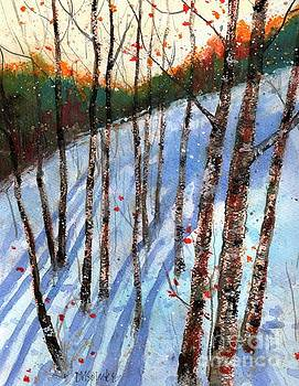 Early Morning Shadows by Diane Splinter