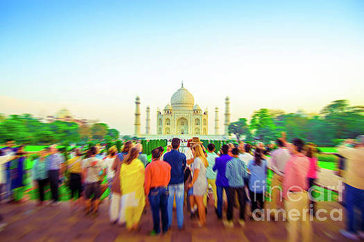 Neha Gupta - Early Morning Tourists At Taj mahal