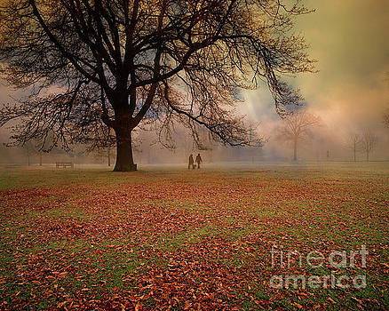 Early Morning in the Park by Edmund Nagele