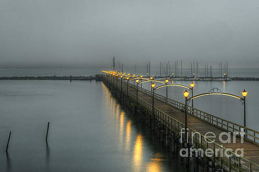 Rod Wiens - Early Morning at the Pier
