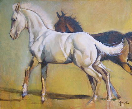 Early Race by Mary Leslie