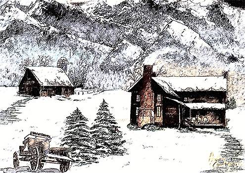 Early Snowfall by Penny Everhart