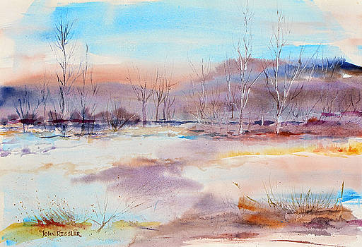 Early Spring at Reecer Creek by John Ressler