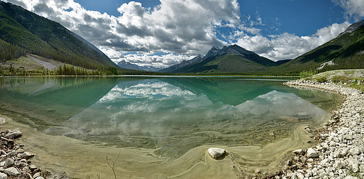 Early summer day on Goat Pond by Sebastien Coursol