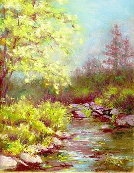 Early Summer on the Big Thompson River by Grace Goodson