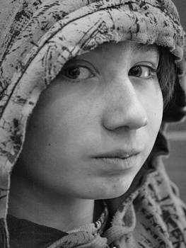 Early Teen Boy by Jennifer Whiteford