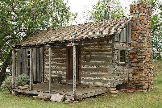 Robert Anschutz - Early Texas Cabin