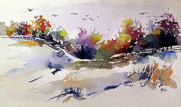 Early winter by Kovacs Anna Brigitta