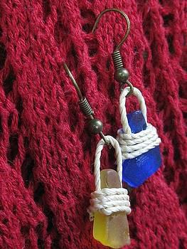 Earrings 2 by Lorna Diwata Fernandez