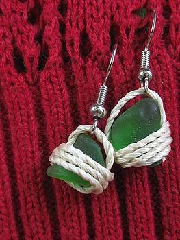 Earrings 3 by Lorna Diwata Fernandez