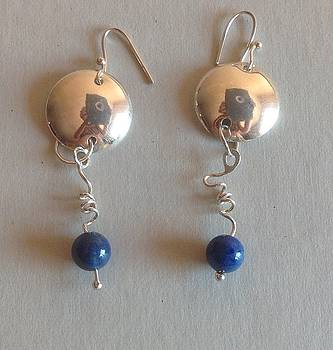 Earrings by Mireille Damicone