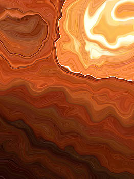 Earth Abstract2 by Linnea Tober