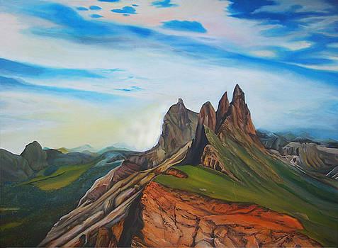 Earth and Sky by Leonard Aitken