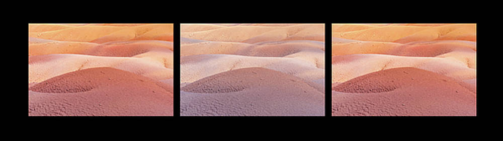 Jenny Rainbow - Earth Bodyscape. Natural Abstract 1. Triptych