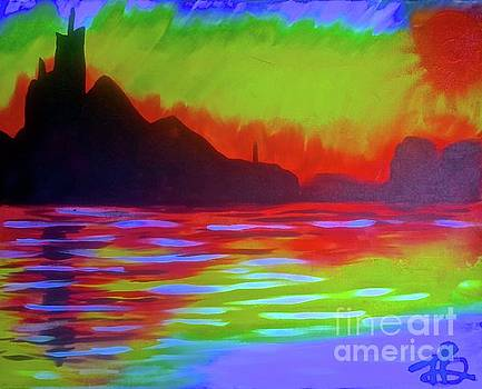 Earth, Fire and Water 1 by Tony B Conscious