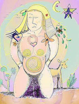 Earth Mother by Julia Woodman
