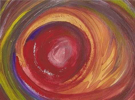 Earth Storm  by Julia Woodman
