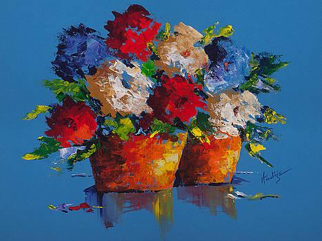 Earthen Pots by Mary DuCharme